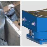 Monitorización de brechas en cojinetes hidrostáticos